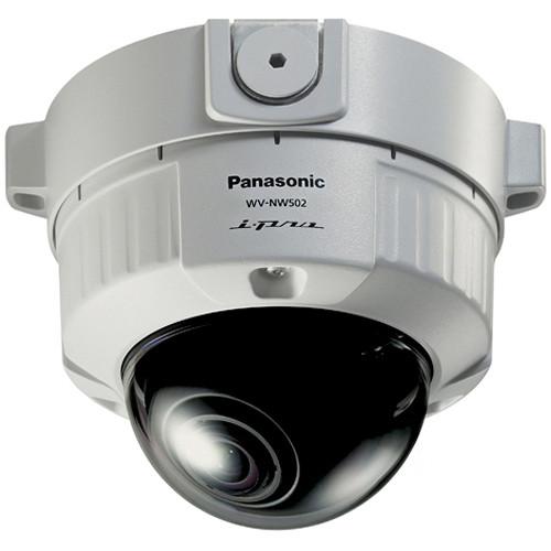 Panasonic WV-NW502S/22 Vandal-Resistant Fixed Dome HD Network Camera (NTSC)