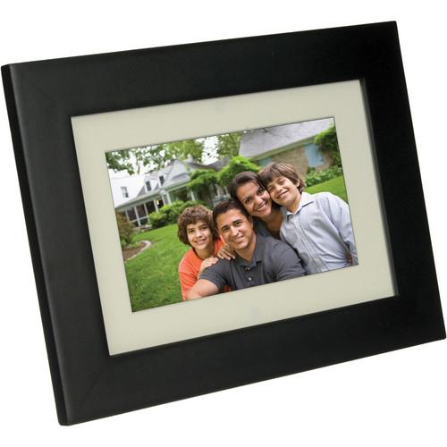 "Pandigital Panimage 7"" LED Digital Photo Frame (Black)"