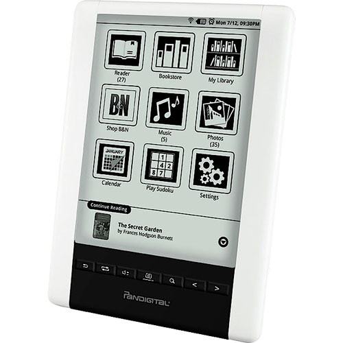 "Pandigital 2GB Novel 6.0"" Personal eReader - U.S."