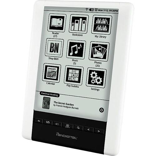 "Pandigital 2GB Novel 6.0"" Personal eReader - U.S."