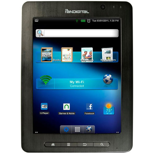 "Pandigital 4GB SuperNova 8"" Android Media Tablet & Color eReader"