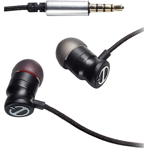 Paradigm E1 In-Ear Stereo Earphones (Black)