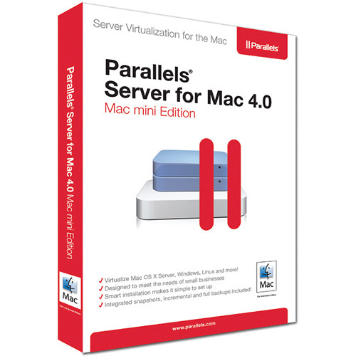 Parallels Server for Mac 4.0 - Mac mini Edition