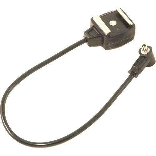 Paramount PMHSFSKL Sync Cord - Hot Shoe to Male Screw-Lock PC - 1'