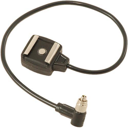 Paramount PMRHSFMSKL Sync Cord - Hot Shoe to Male Screw-Lock PC - 1'