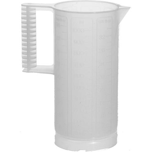 Paterson Plastic Beaker (Ounce and Metric Graduations)- 32-oz