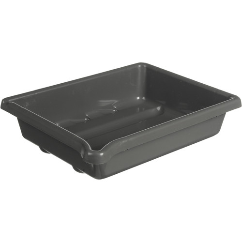 """Paterson Plastic Developing Tray - for 5x7"""" Paper (Gray)"""