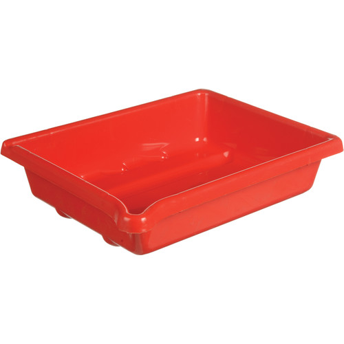"""Paterson Plastic Developing Tray - for 5x7"""" Paper (Red)"""
