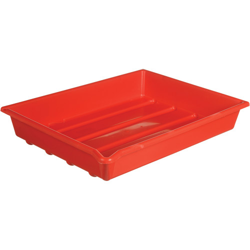 """Paterson Plastic Developing Tray - 12x16"""" (Red)"""