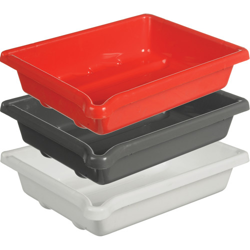 """Paterson Plastic Developing Trays for 5x7"""" Paper (Set of 3, One of Each Color)"""