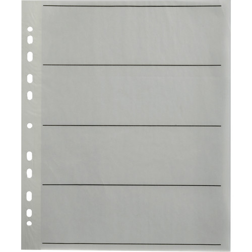 Paterson Spare Pages for 120/220 Negative Filing System - 25 Sheets