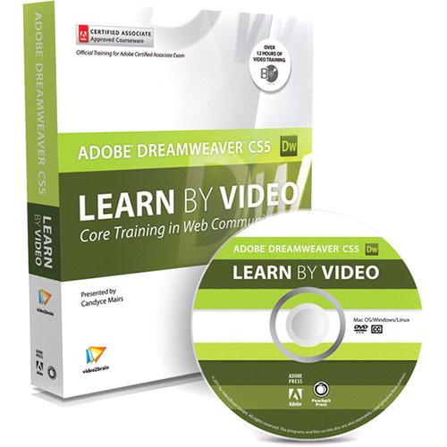 Pearson Education Book & DVD-ROM: Learn Adobe Dreamweaver CS5 by Video: Core Training in Web Communication