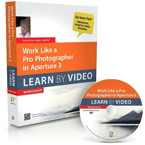 Peachpit Press Book & DVD: Work Like a Pro Photographer in Aperture 3: Learn by Video (1st Edition)