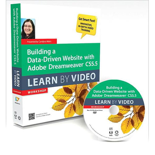 Pearson Education Book & DVD: Building a Data-Driven Website with Adobe Dreamweaver CS5.5: Learn by Video (1st Edition)