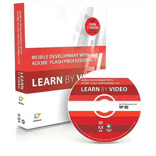Pearson Education Book & DVD: Mobile Development with Adobe Flash Professional CS5.5 and Flash Builder 4.5: Learn by Video (1st Edition)