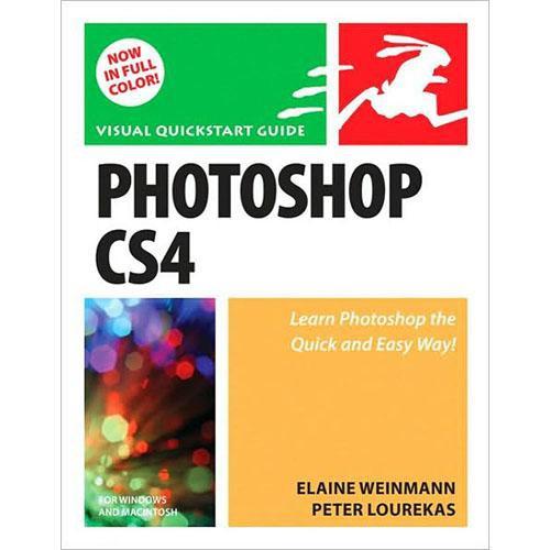Pearson Education Book: Photoshop CS4 for Windows and Macintosh: Visual QuickStart Guide by Elaine Weinmann, Peter Lourekas