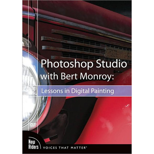 Pearson Education DVD-Rom: Photoshop Studio with Bert Monroy: Lessons in Digital Painting by Bert Monroy