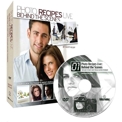 Peachpit Press DVD/Book: Photo Recipes Live: Behind the Scenes: Your Guide to Today's Most Popular Lighting Techniques (First Edition)