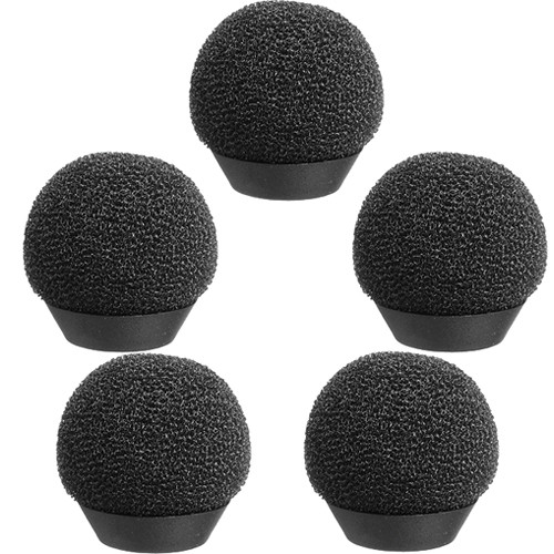 Pearstone Foam Windscreen for Sony ECM-77 (5-Pack)