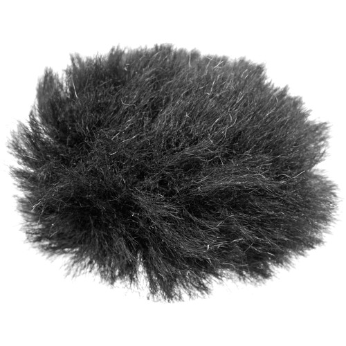 Pearstone Fuzzy Windbuster for Lavalier Microphones (Black)