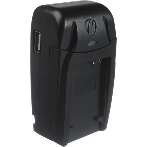 Pearstone Compact AC/DC Charger for SLB-11A Battery