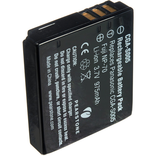 Pearstone BP-DC4 Lithium-Ion Battery Pack (3.7V, 975mAh)