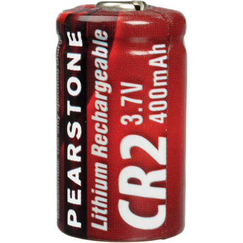 Pearstone CR-2 Rechargeable Lithium Battery (3.7V)