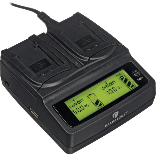 Pearstone Duo Battery Charger for Nikon EN-EL11