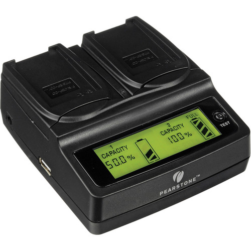 Pearstone Duo Battery Charger for ContourHD Battery