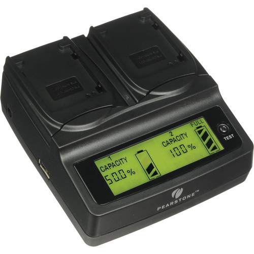 Pearstone Duo Battery Charger for GoPro AHDBT-001