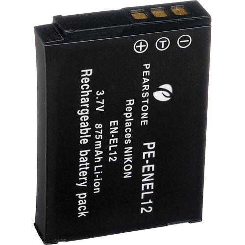 Pearstone EN-EL12 Lithium-Ion Battery Pack (3.7V, 875mAh)