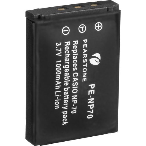 Pearstone NP-70 Lithium-Ion Battery Pack (3.7V, 1000mAh)