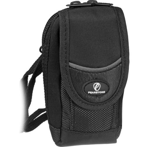 """Pearstone Onyx 240 Camera Pouch (5.3 x 2.25 x 1.3"""", Black)"""