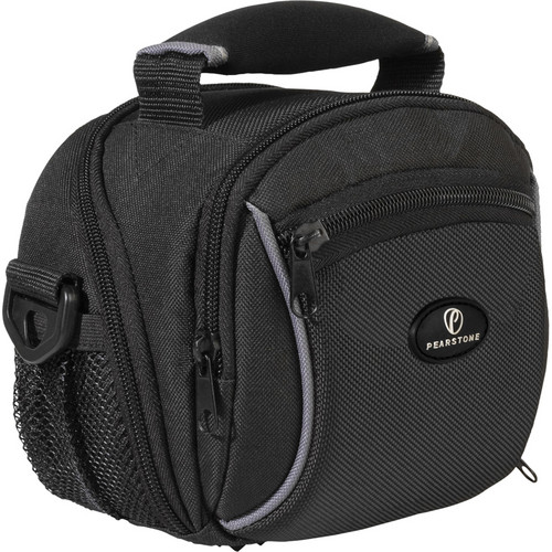 Pearstone Onyx 1010 Digital Camera/Camcorder Shoulder Bag
