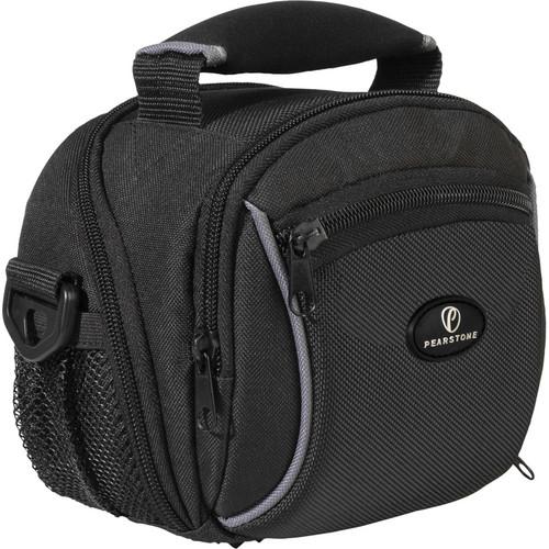 Pearstone Onyx 1010 Digital Camera/Camcorder Shoulder Bag