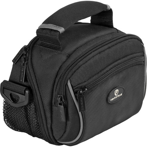 Pearstone Onyx 1020 Digital Camera/Camcorder Shoulder Bag