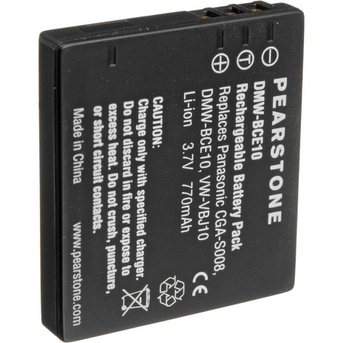 Pearstone VW-VBJ10 Lithium-Ion Battery Pack (3.7V, 1000mAh)