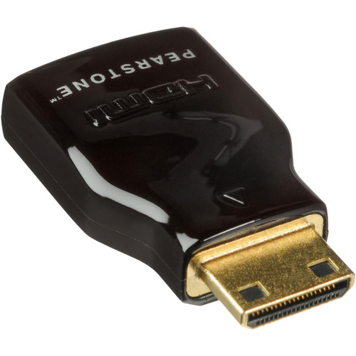 Pearstone HDMI Female to Mini HDMI Male Adapter