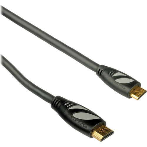 Pearstone HDC-110 High-Speed Mini-HDMI to HDMI Cable with Ethernet (10')