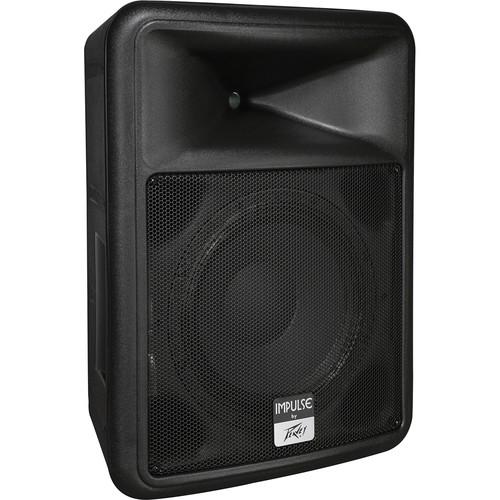 """Peavey Impulse 1012 Weather-Resistant 12"""" 2-Way Loudspeaker (Black)"""