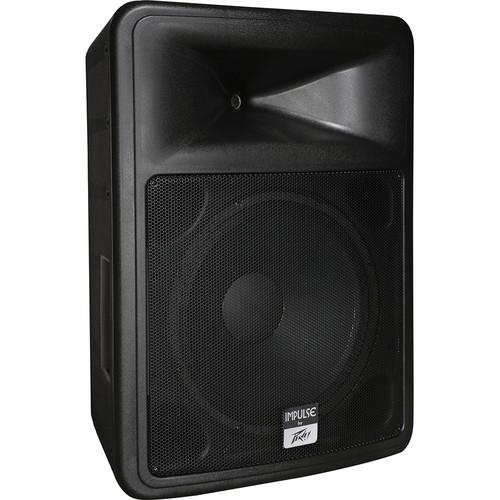 """Peavey Impulse 1015 Weather-Resistant 15"""" 2-Way Loudspeaker (Black)"""
