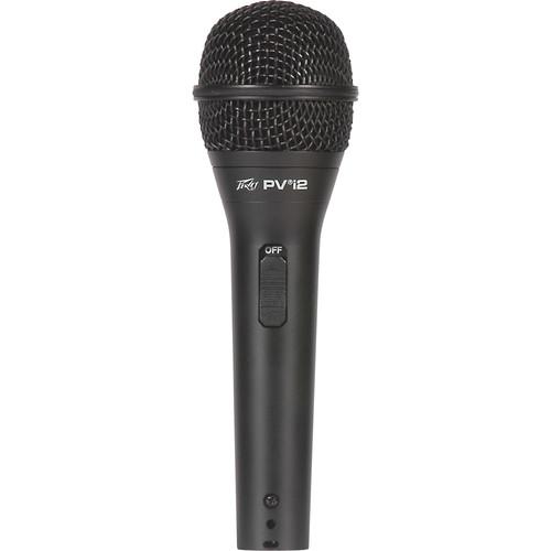 "Peavey PVi 2 Dynamic Handheld Microphone (1/4"" Phone Cable)"