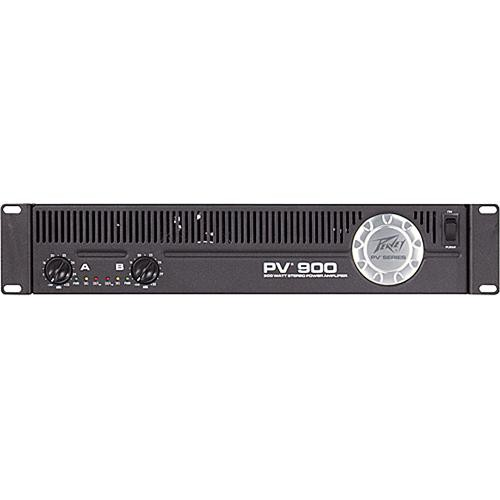 Peavey PV900 Rackmount Stereo Power Amplifier (180W/Channel @ 8 Ohms)