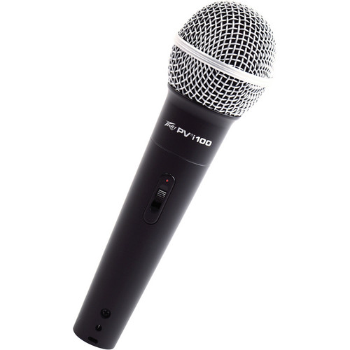 "Peavey PVi 100 Dynamic Handheld Microphone (1/4"" Phone Cable)"