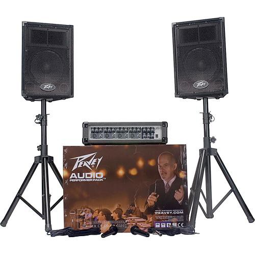 Peavey Audio Performer Pack - Complete PA System