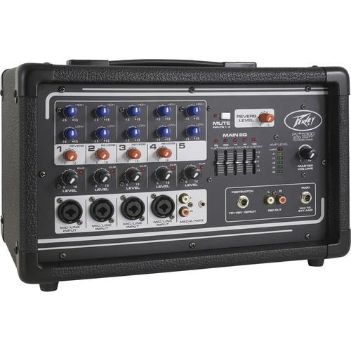 Peavey PV 5300 - Five Channel, 200 Watt Powered Mixer