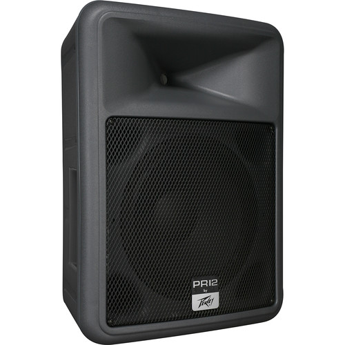 """Peavey PR12 12"""" 2-Way Portable PA Speaker Kit with Stand"""