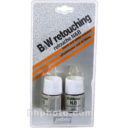 Pebeo Black & White Reducer, Parts A (Bleach) & B (Neutralizer) - 45ml each