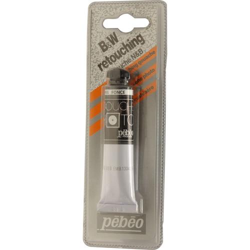 Pebeo Retouch Dye for Black & White Prints - Dark Gray/20ml