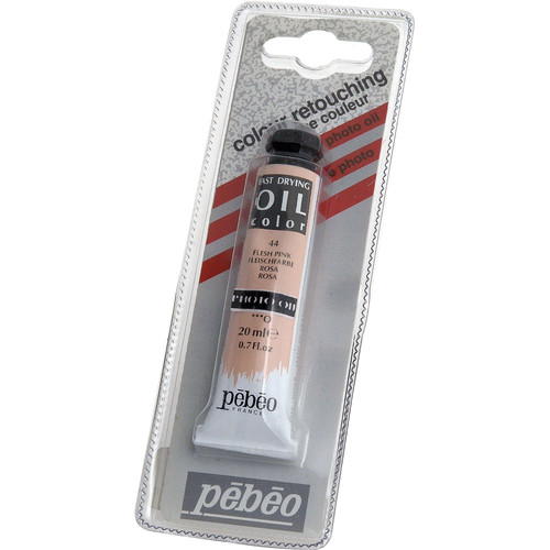 "Pebeo Oil Color Paint: No.44 Flesh Pink - 3/4x4"" Tube (.7 Oz.)"